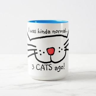 3 cats ago coffee mug