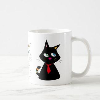 3-CATS COFFEE MUG