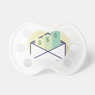 3 Checks in one envelope Pacifier