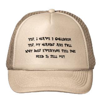 3 Children hand full Trucker Hat
