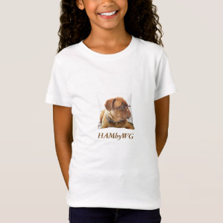 3 Colors - Bulldog HAM Bella Fitted Babydoll T T-Shirt