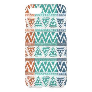 3 colors Geometric Tribal Pattern iPhone 7 Case