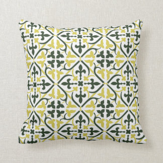 3 Colors Medieval Pattern Pillow