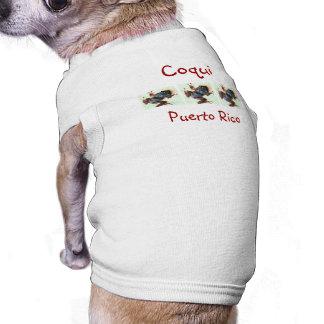 3 Coqui Dog T-Shirt