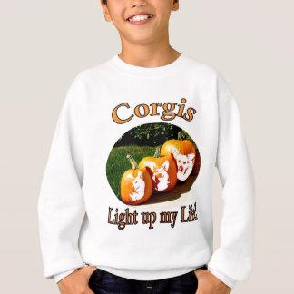 3 Corgis Light up my Life Sweatshirt