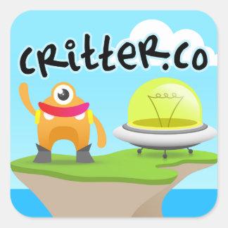 """3"""" Critter.Co Sticker (sheet of 6)"""
