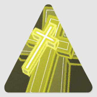 3 Crosses Sticker