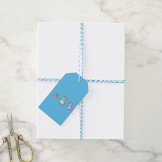 3 Cute Monsters Gift Tags