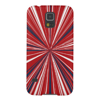 3-D explosion in Patriotic Colors Case For Galaxy S5