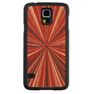 3-D explosion in Patriotic Colors Cherry Galaxy S5 Case