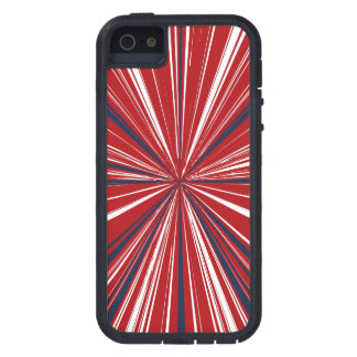 3-D explosion in Patriotic Colors iPhone 5 Covers
