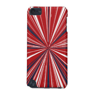 3-D explosion in Patriotic Colors iPod Touch 5G Cases