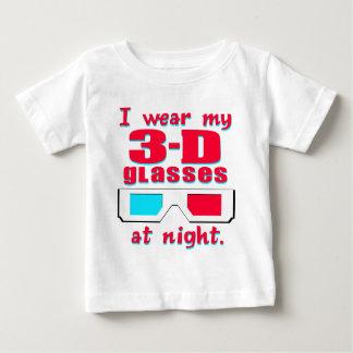 3-D Glasses Baby T-Shirt