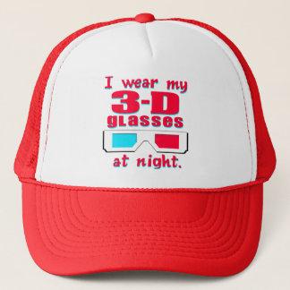 3-D Glasses Trucker Hat