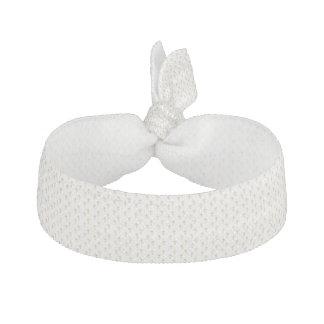 """""""3-D"""" Look Golden Cross with Wedding Rings Hair Tie"""