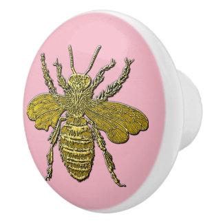 3-D Look Honey Bee & Your Color Ceramic Knob