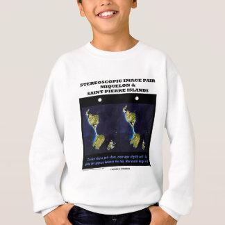3-D Miquelon and Saint Pierre Islands Tee Shirt