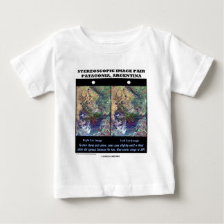 3-D Patagonia, Argentina Baby T-Shirt