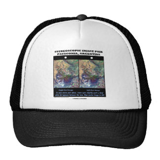 3-D Patagonia, Argentina Hats