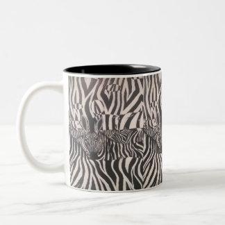3 D Zebra Painting On Mug