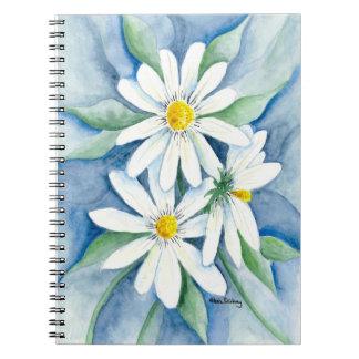 3 Daisies Notebook