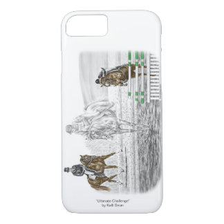 3-Day Eventing Horses Combined Training iPhone 8/7 Case
