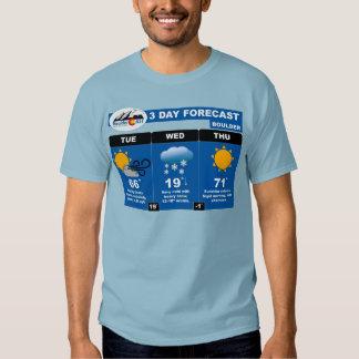 3-Day Forecast T-shirt