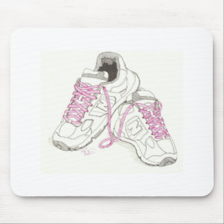 3 Day Walking Shoes Mouse Pad