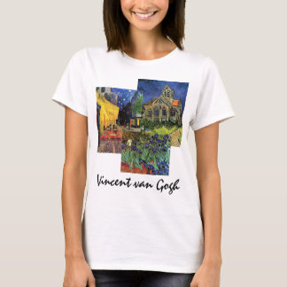 3 different Famous Vintage van Gogh Paintings T-Shirt