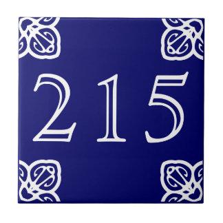 3 Digit Number tile -Spanish
