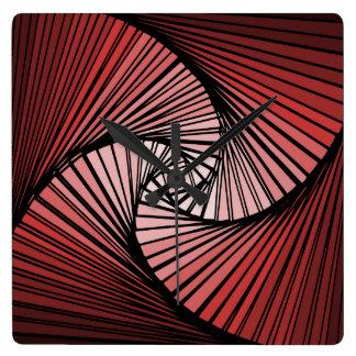 3 dimensional spiral clock