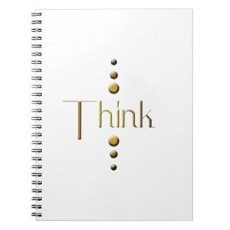 Custom notebooks, print notebooks. Merchandising