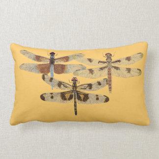 3 Dragonflies Pillow