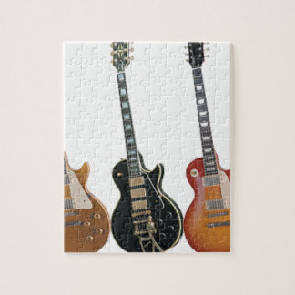3 ELECTRIC GUITARS JIGSAW PUZZLE