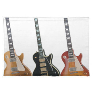 3 ELECTRIC GUITARS PLACEMAT