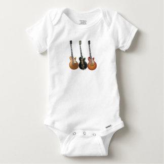 3 ELECTRIC GUITARS RETRO BABY ONESIE