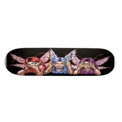 3 faeries skateboard