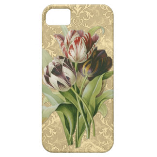 3 Flowers - Vintage Style. iPhone 5 Case