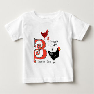 3 French Hens T-shirts