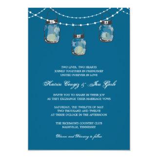 3 Hanging Mason Jars - Bridal Shower Card