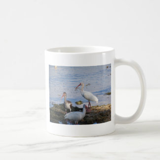 3 Ibis on the shore of Florida Bay Coffee Mug