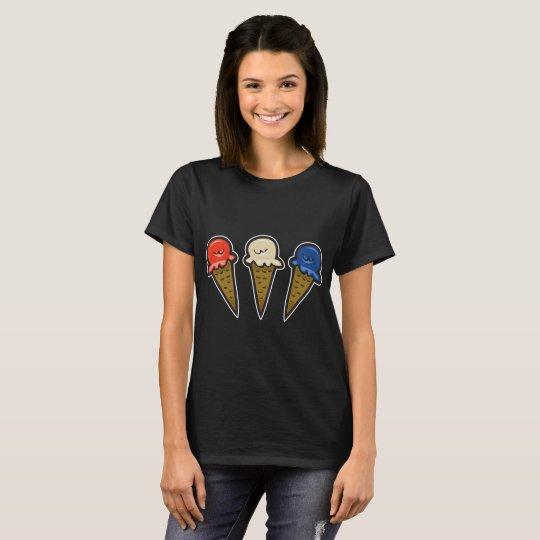 3 Ice Cream Cones #1 T-Shirt