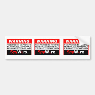 3 in 1 Fake Alarm System Sticker for your home!