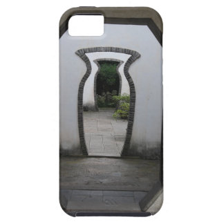 3 Jar Shaped Door Optical Illusion iPhone 5 Cover