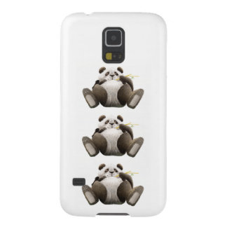 3 Lazy Pandas Case For Galaxy S5