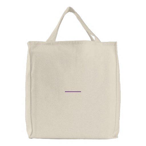 "3"" Line 1/8"" Thick Canvas Bag"