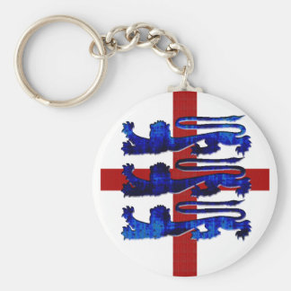 3 lions England St George's flag gifts Keychain