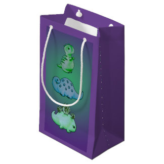 3 Little Dinos Small Gift Bag