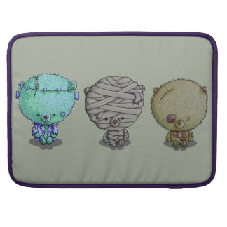 """3 Little Monsters"" 15"" Laptop Bag Sleeve For MacBook Pro"