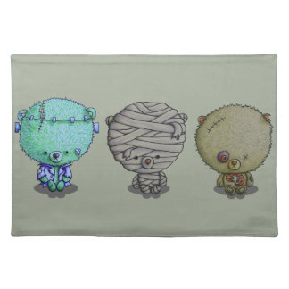 3 Little Monsters Placemat